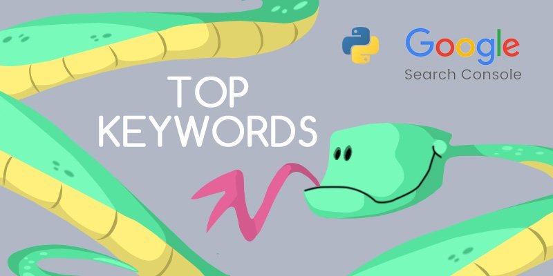 Uncover hidden keywords using Search Console API and Python